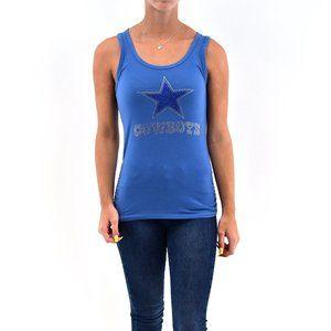 AMBIANCE Cowboys Star Tank Top #ZZ5